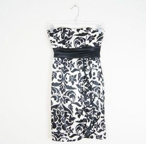 Ruby Rox   Black & White Dress